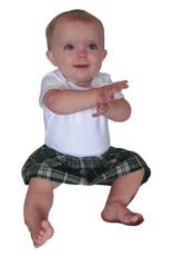 BABY CLOTHES TARTAN BABY ONESIE