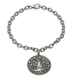 "BRACELETS & BANGLES SHANORE STERLING GENERATIONS ""TRINITY TREE OF LIFE"" BRACELET"