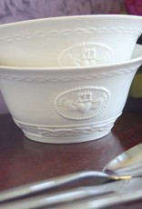 KITCHEN & ACCESSORIES SET OF 2 BELLEEK CLADDAGH BOWLS