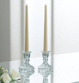 "DECOR GALWAY CRYSTAL ASHFORD 4"" CANDLESTICK SET"