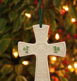 ORNAMENTS ST. PATRICKS CROSS BELLEEK ORNAMENT