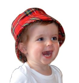 BABY CLOTHES VARIOUS TARTAN BABY BUCKET HAT