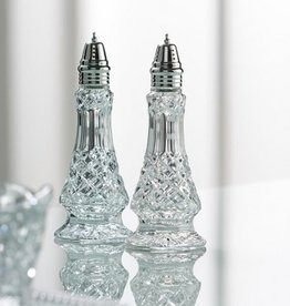 KITCHEN & ACCESSORIES GALWAY CRYSTAL ASHFORD SALT & PEPPER SHAKER SET