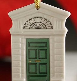 ORNAMENTS GEORGIAN GREEN DOOR 2014 BELLEEK ORNAMENT
