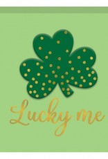 "NOVELTY ""LUCKY ME"" STANDING PLAQUE"