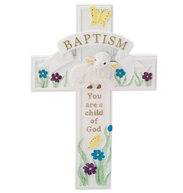 CROSSES LAMB BAPTISM CROSS