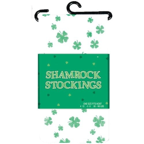 ST PATRICK'S DAY NOVELTY SHAMROCK STOCKINGS