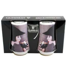 MISC NOVELTY CLEARANCE - GUINNESS GIRL SALT & PEPPER SET - FINAL SALE