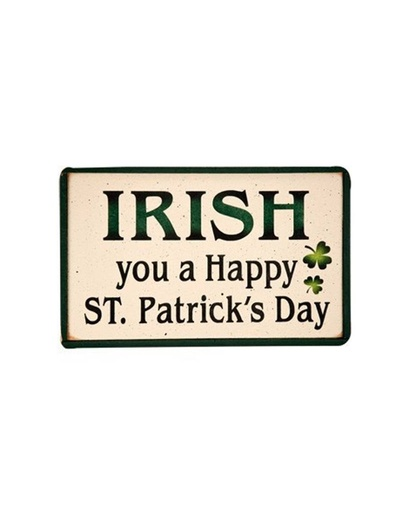 Irish You A Happy St Patricks Day Wooden Sign Irish Crossroads