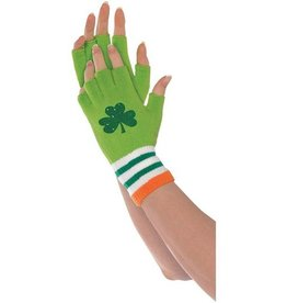 ST PATRICK'S DAY NOVELTY ST. PATS GLOVES FINGERLESS