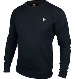 SWEATERS GUINNESS BLACK COTTON SWEATER