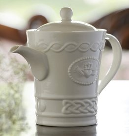 TEAPOTS, MUGS & ACCESSORIES BELLEEK CLADDAGH BEVERAGE POT