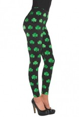 ST PATRICK'S DAY NOVELTY SHAMROCK LEGGINGS
