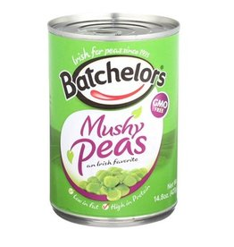FOODS BATCHELORS MUSHY PEAS 14.8oz