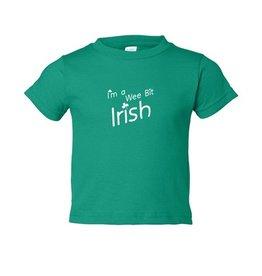 "BABY CLOTHES ""I'M A WEE BIT IRISH"" BABY/TODDLER SHIRT"