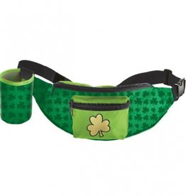 ST PATRICK'S DAY NOVELTY FANNY PACK with BEVERAGE HOLDER