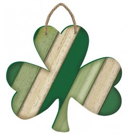 "ST PATRICK'S DAY SHAMROCK ""PALLET STYLE"" WALL HANGING"
