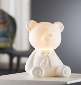 CANDLES & LIGHTING BELLEEK LIVING TEDDY BEAR LUMINAIRE