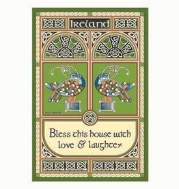 KITCHEN & ACCESSORIES TEA TOWEL - Celtic Peacock