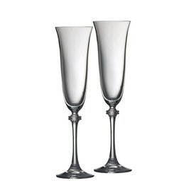 WEDDING GALWAY CRYSTAL LIBERTY TOASTING FLUTES