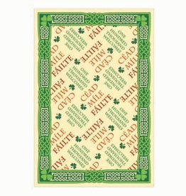 KITCHEN & ACCESSORIES TEA TOWEL - Cead Mile Failte