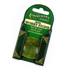 SMALL NOVELTY IRISH GIFTS CONNEMARA MARBLE WORRY STONE