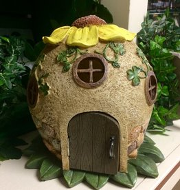 GARDEN GARDEN FAIRY SUNFLOWER HOUSE