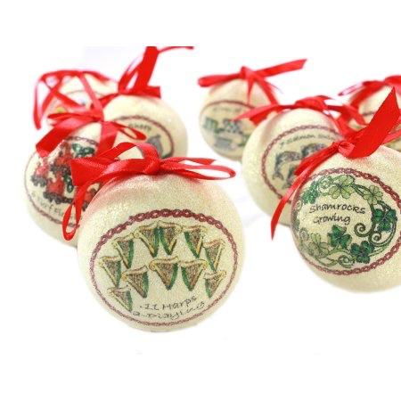 Twelve Days Of Christmas Ornaments.Ornaments Solvar 12 Days Of Christmas Ornament Set