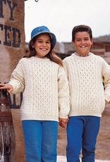 KIDS CLOTHES CHILDREN'S PULLOVER ARAN SWEATER