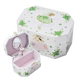 DECOR IRISH FAIRY MUSIC BOX