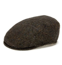 CAPS & HATS TAILORED BROWN CHECK HANNA HAT
