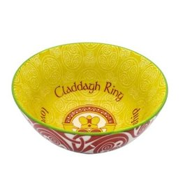 "VASES & BOWLS CLADDAGH RING 4.25"" CLARA BOWL"