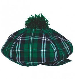 ST PATRICK'S DAY NOVELTY PLAID GATSBY HAT