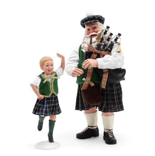 """SANTAS """"COUNTRY DANCE"""" IRISH SANTA"""