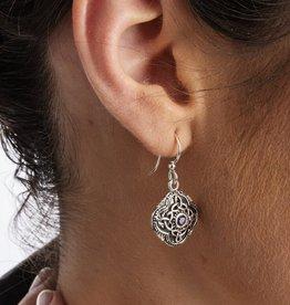 EARRINGS SHANORE STERLING CELTIC TRIBES CELTIC DROP EARRINGS