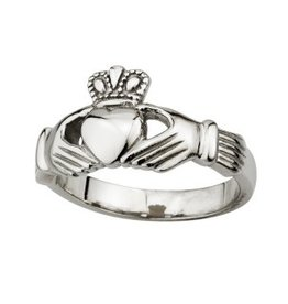 RINGS SOLVAR LADIES STAINLESS CLADDAGH