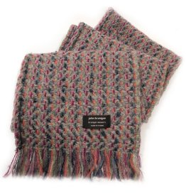 ACCESSORIES BRANIGAN WEAVERS SCARF - CONNEMARA LIGHT GREY
