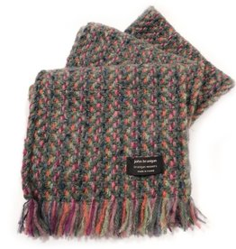 ACCESSORIES BRANIGAN WEAVERS SCARF - CONNEMARA LODEN