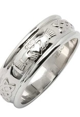 RINGS FADO CORRIB CLADDAGH BAND - WIDE