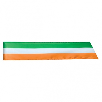 "ST PATRICK'S DAY NOVELTY IRISH FLAG 62"" SASH"