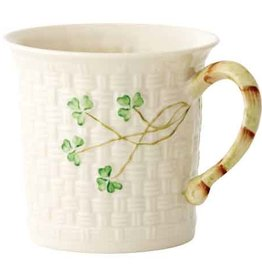 TEAPOTS, MUGS & ACCESSORIES BELLEEK SHAMROCK MUG
