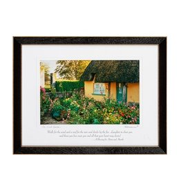 PLAQUES & GIFTS IRISH GARDEN PRINT 9X12