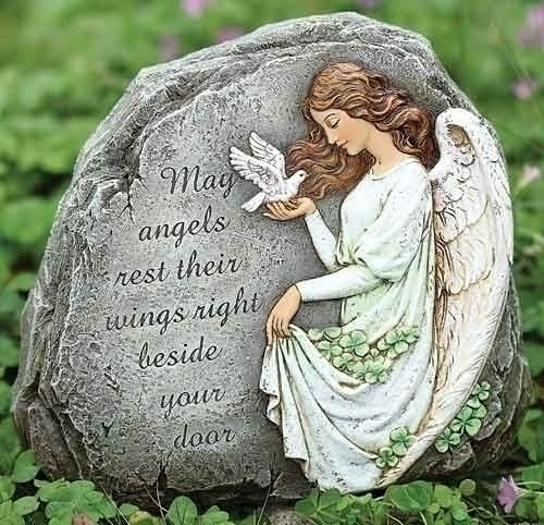 GARDEN IRISH ANGEL GARDEN STONE
