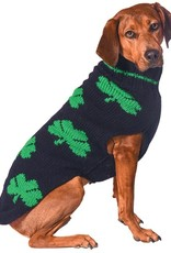 SWEATERS DOG SWEATER - MULTI SHAMROCK