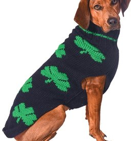SWEATERS DOG SWEATER - MULTI SHAMROCK