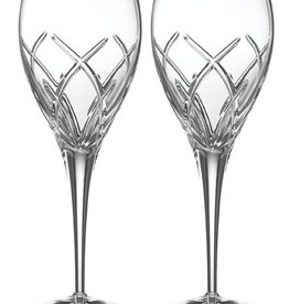 BARWARE GALWAY CRYSTAL MYSTIQUE GOBLETS (2)