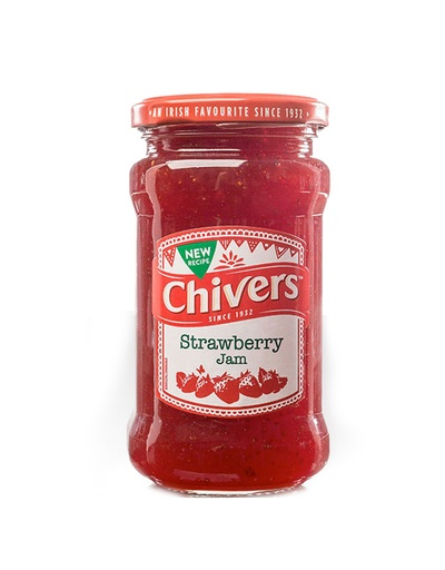 FOODS CHIVERS JAM - STRAWBERRY (370g)