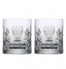GIFTWARE EMERALD CRYSTAL BARLEY DOF GLASSES