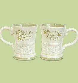 "KITCHEN & ACCESSORIES ""GAELIC GREETINGS"" CHRISTMAS MUG"
