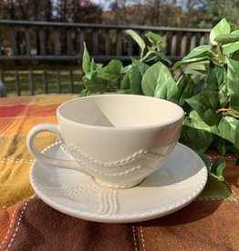 KITCHEN & ACCESSORIES KARA IRISH POTTERY TEACUP & SAUCER